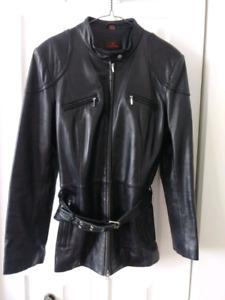 Manteau en cuir souple $60.00