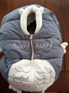 Housse pour coquille hibou