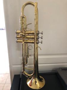 Nuova NTR-3 Brass Trumpet w/ Case, MSRP: $249.99