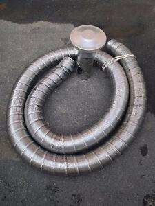 """tuyau flexible cheminee 18' x 5"""" flex pipe for chimney"""