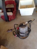 Propane tiger torch and propane heater