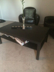 Ikea Black Coffee Table OBO