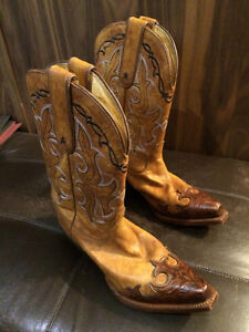 Tony Lama  Leather Western Boots