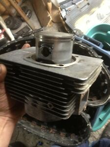 Rotax 503 piston and jug