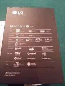 Lg optimus g pro phone or note 3 trade . Open but not used.  Stratford Kitchener Area image 4