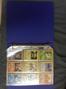 Pokemon cards, entire original base set (no holographics)
