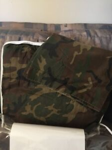 Camouflage Twin/Double Bed Comforter