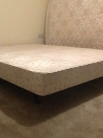 Double divan, non storage