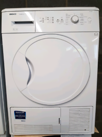 Beko 8kg condenser tumble dryer(delivery available)