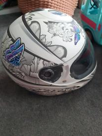 Shark womans helmet