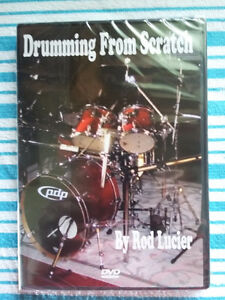 "Learn to drum DVD ""Drumming from scratch"""