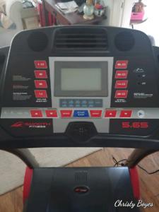 Smooth Fitness Folding Treadmill
