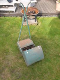 Qualcast retro push lawnmower