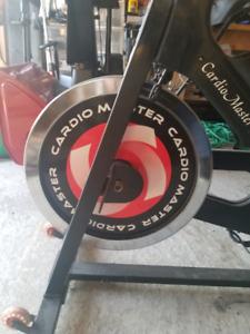 Cardio master spin bike