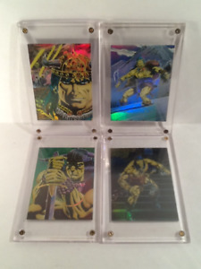 Conan 1988 & 1990's Chrome Card Sets ( 5 ) Promo,Chase Cards 19