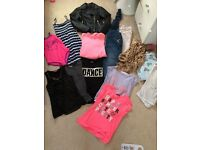 Girls clothing bundle 8 9 years