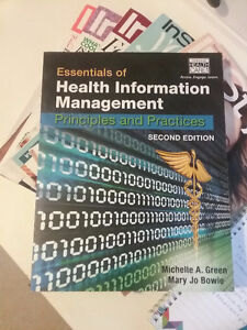 Essentials of Health Information Management, 2nd edition London Ontario image 1