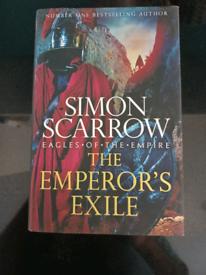 Simon Scarrow - The Emperor's Exile hardback