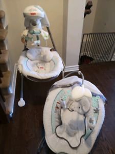 e3414d6ddbc Baby bouncer and baby swing