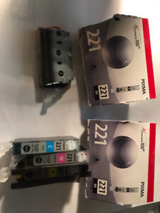 Canon Ink 221 Brand NEW in package
