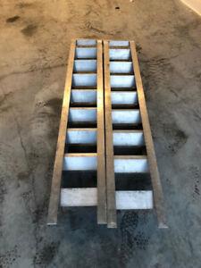 Aluminum  Heavy duty ramps