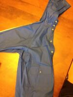 Boys rain coat, blue, sz 5/6, SPLASH brand