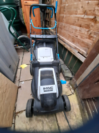 Mc allister self propelled electric mower