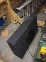 "12"" sub with kicker ex 500.1 subwoofer amplifier"