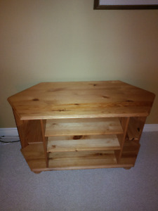 Solid Pine TV table from Ikea 41 long x 17 wide 2 feet high