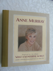 ANNE MURRAY, BOOK, WHAT A WONDERFUL WORLD