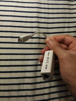 MicroUSB Network(Ethernet) Adapter