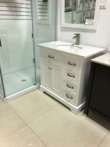 "36"" Bathroom Vanity Marble Top DISPLAY **DONT DELAY** $599"