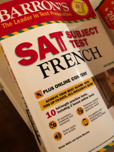 barrons sat subject test french 4th edition with bonus online tests
