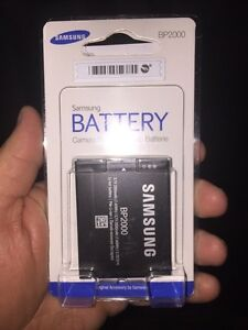 SAMSUNG BP2000 LITHIUM ION CAMERA BATTERY  BATTERIE BRAND NEW