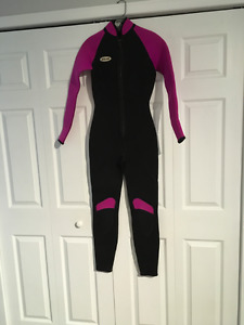Ladies wet suit