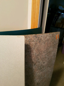 2 x 4 new sheets of arbourite - 7 sheets