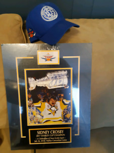 Matted Sydney Crosby Print and Hat