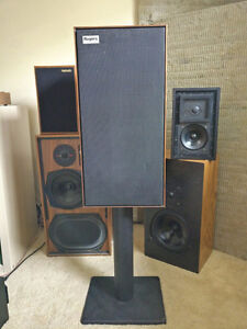 Rogers LS7 British Audiophile Loudspeaker, LS3/5a alternative