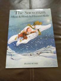 The Snowman Howard Blake Piano Vocal Sheet Music