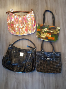 Different sized purses for sale!