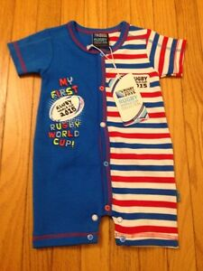 Rugby World Cup romper size 00