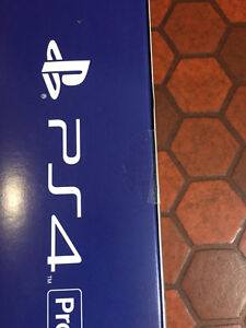 PS4 Pro Unopened - Launch Edition Bundle