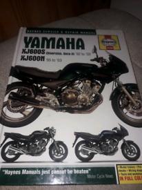 Haynes manual Yamaha XJ600S XJ600N
