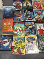 Several kids / family DVDs / blu-ray