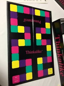 Thinkalike board game from 1990  London Ontario image 9