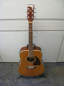 Ibanez Acoustic Guitar PF60SE w/ On-Board Tuner