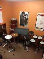Drum lessons at 53rd Street Music