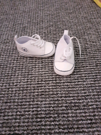 Size 2 baby trainers