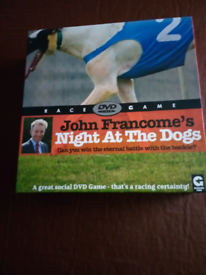 A night at the dogs DVD board game