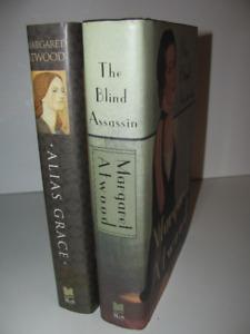 2 Margaret Atwood HC 1st/1st Alias Grace 1996 & Blind Assassin